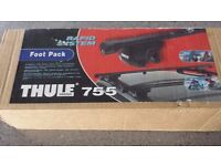Thule 755 Roof Bar Foot pack for BMW 5 Series