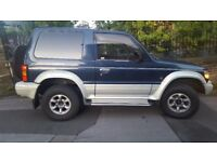 Mitsubishi Pajero 2.8 diesel 4x4 Manual 5speed SWB AWD 4WD Import 2005 not a uk shogun mot & taxed