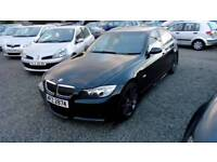 07 BMW 325 Auto Sport 4 Door Mot Nov 18 History Full Leather Trim ( can be viewed inside Anytime