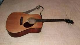 Adam Black Acoustic Guitar