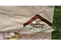 Caravan porch awning,