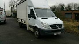 Mercedes Sprinter Curtains 313CDI 2012 Lift On The Back