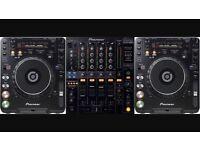 X2 cdj 1000mk3 with djm800 mixer PIONEER