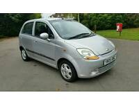 AIRCON + 2005 CHEVROLET MATIZ SX 995cc + 5 DOOR + SILVER + SERVICE HISTORY & TIMMING BELT REPLACED