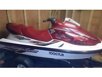 Jetski Yamaha XL700 Wave Runner with trailer, transport cover, life jackets and wetsuits