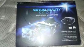 Virtual reality scope