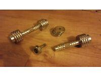 reebok chrome adjustable dumbells