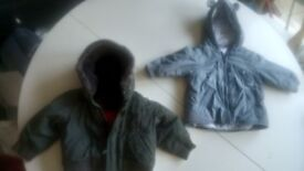 Two baby boy's automn/ winter/spring jackets from Next . Canterbury