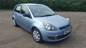12 Months MOT - Ford Fiesta - 2007 , STYLE , 1.4 TDCi Diesel , £30 Road Tax , Perfect 1st Car