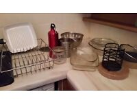 For sale pyrex oven pots / trays + other cook ware Glasgow £10