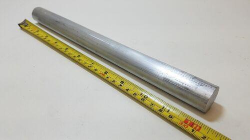 "6061 Aluminum Round Rod Bar, 1"" diameter, 12"" long, Lathe, Solid"