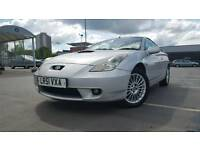 Toyota Celica 1.8 Silver, full MOT, 6 speed gearbox, drives great, REDUCED!