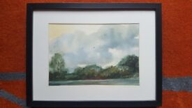 Framed Watercolour Landscape Paintings