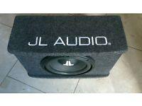 Enclosed subwoofer -JL Audio