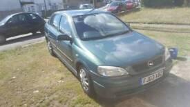Vauxhall/Opel Astra 1.6 cheap car long mot