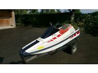 Yamaha MarineJet 500t Waverunner jet ski on trailer