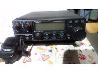 Alinco DX70 160-6M 100 watts HF+6 AM/FM/SSB/CH Trans saver