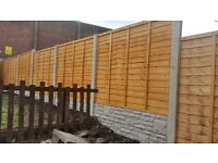 fencing offers supply and fitted £330 SPECIAL OFFERS FOR FEATHER EDGE ( 6 bays )