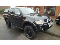 Mitsubishi L200 animal 2006 black