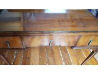 Waring & Gillow Mahogany Dressing Table / Desk