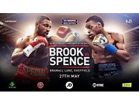 Kell Brook vs Errol Spence at Bramhall Lane