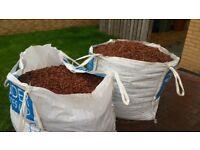 Red Gravel 2 bulk bags