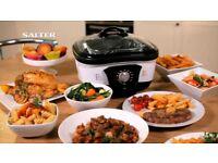 Salter EK1647 8-in-1 White Stainless Steel Multi-Purpose Multi-Cooker............New