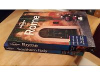 Italy Lonely Planet travel guides - Southern Italy & Rome - two guides in good condition