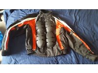 Spartan Motorbike Jacket and Gloves VERY CHEAP!