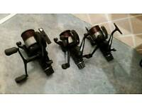 3 x Shimano 8000 re aero's fishing reels excellent condition...pike carp salmon