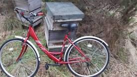Ladies touring comuter bike