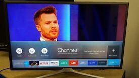 """Samsung 32"""" led smart led at Morley tv sales, Morley, LEEDS"""
