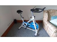 As new spin bike