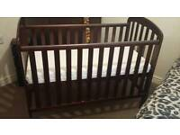 Obaby cot with mattress