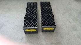 Trident Milenco motorhome level-up chock kit & bag