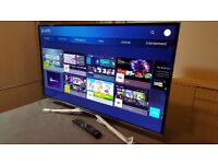 """SAMSUNG 40"""" Smart 4K UHD HDR LED TV-UE40KU6400,built in Wifi,Freeview, Excellent condition"""