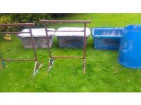 Mortar Tubs and Stands