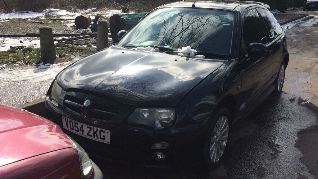 2004 Rover 25 Si 84 3dr 14 Petrol Black Breaking For Spares In