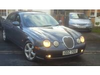 2003 JAGUAR S TYPE 2.5 V6 SPORT GOOD SPEC LONG MOT PART EXCHANGE WELCOME CHEAP CAR