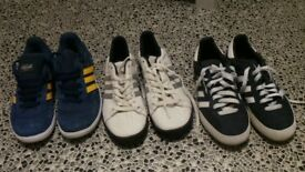 Addidas trainers, Puma, ...Shoes and boots. free local delivery..