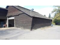 SHED TO RENT LONG OR SHORT TERM 52FT X 72FT IN CROWTHORNE NR TRAIN STATION