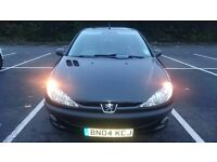 PEUGEOT 206 1.1 FEVER 46K MILES 12MTHS MOT FSH 12K MILES TILL NEXT SERVICE ONE LADY OWNER FROM NEW
