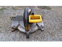 DeWalt DW705 305mm Compound Saw, 240v