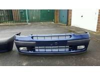 Clio williams front and rear bumper