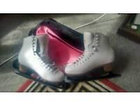 Jackson mystique figure ice skate boots size 7