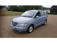 SSANGYONG RODIUS 270 S 5dr Tip Auto (blue) 2005