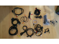 USB, RCA , Scart , Aux, DVI, LAN Cables, TV PC Laptop Cables, Power cables, Cables, Charger