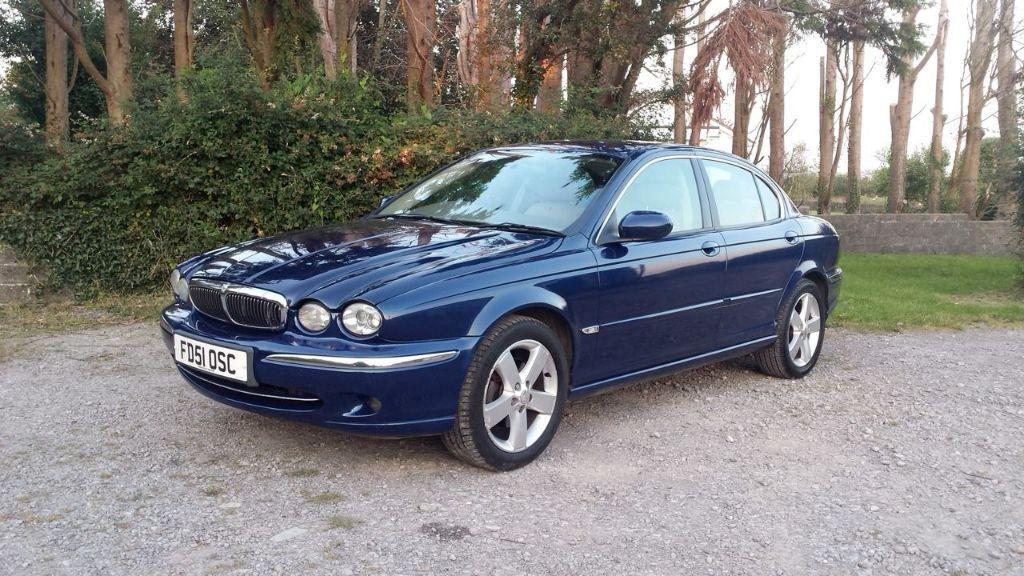 2001 JAGUAR X-TYPE 2.5 V6 SE AWD BLUE   in Barry, Vale of ...