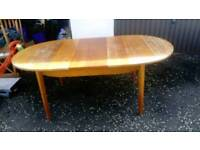Extending Dining table Table & 4 chairs