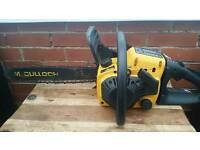 Moculloch JCB, patrol chainsaw